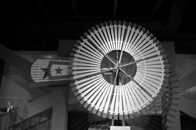 B&W - Museum Windmill - Mike Smeltzer