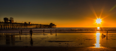"""California Sunset"" - Dennis Deany"