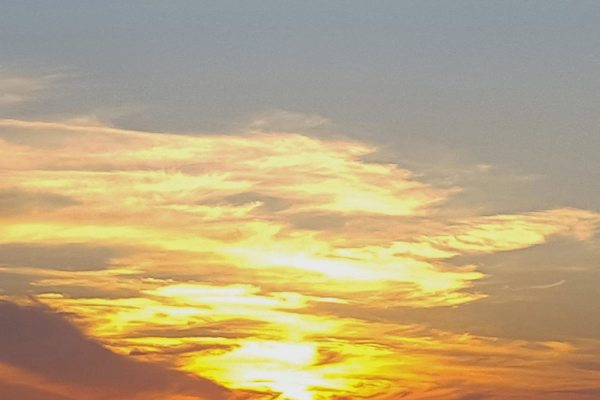 God's Abstract Sky by Barbara Beversdorf