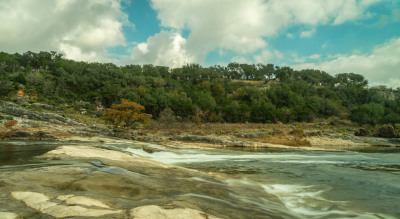"""Pedernales Fall State Park"" by Sandy Gilbert"