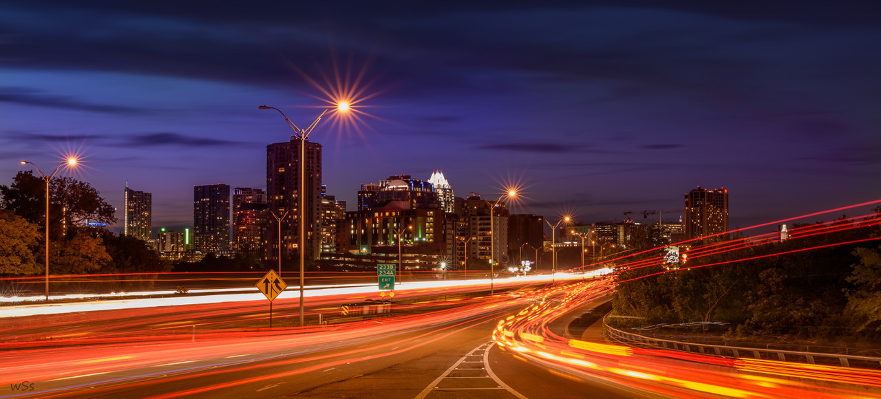 """Austin at Blue Hour"" by Scott Stevens"