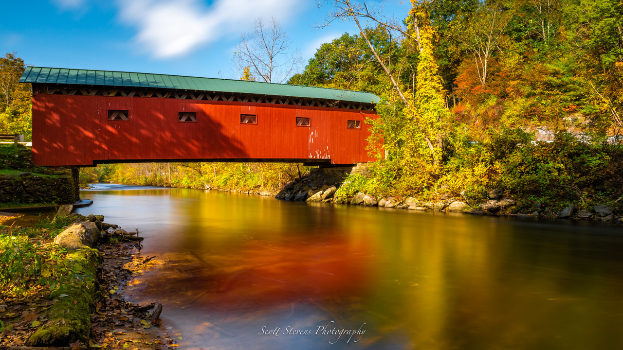 Arlington Covered Bridge by Scott Stevens