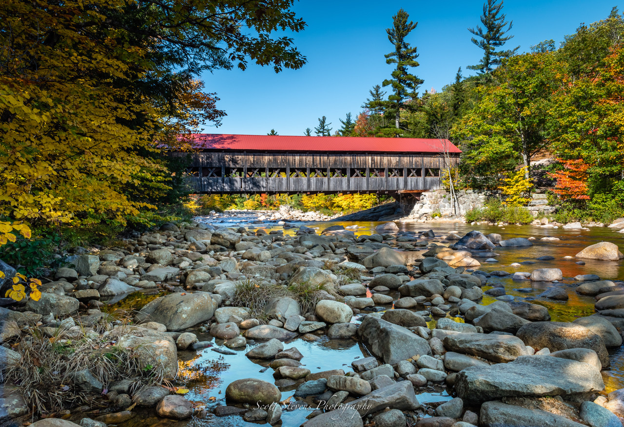 Albany Covered Bridge New Hampshire by Scott Stevens