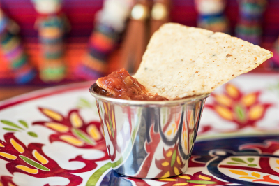Salsa and Chips by Holly Thompson