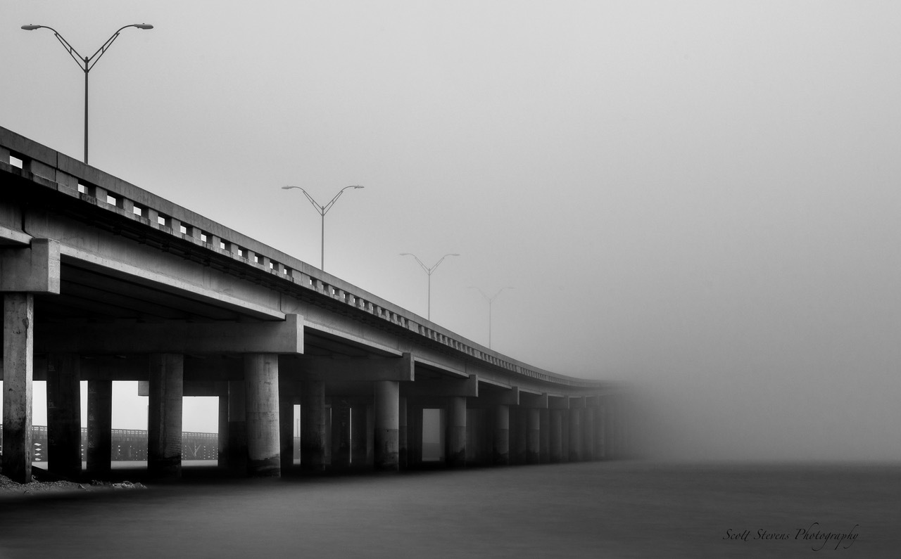 Copano Bay Bridge by Scott Stevens
