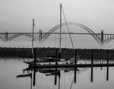Newport Bridge by Sharon Deeny