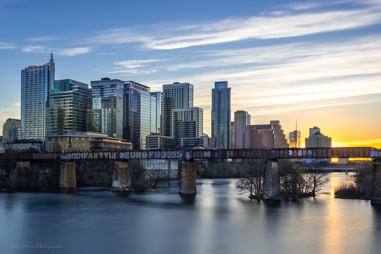 Austin Sunrise by Scott Stevens
