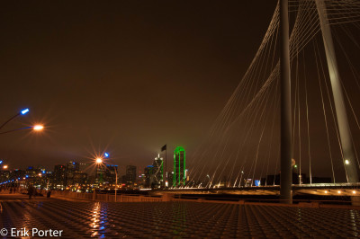Margaret Hunt Hill Bridge Dallas by Erik Porter