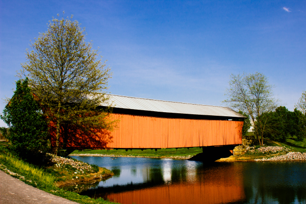 Covered Bridge by Melissa Onks